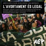 Avortament legal a l'argentina