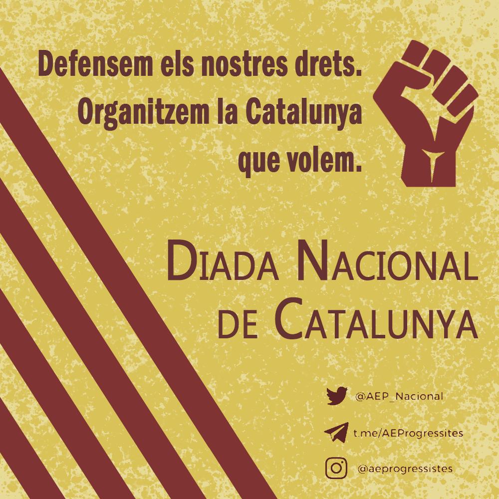 Manifest per la Diada Nacional de Catalunya